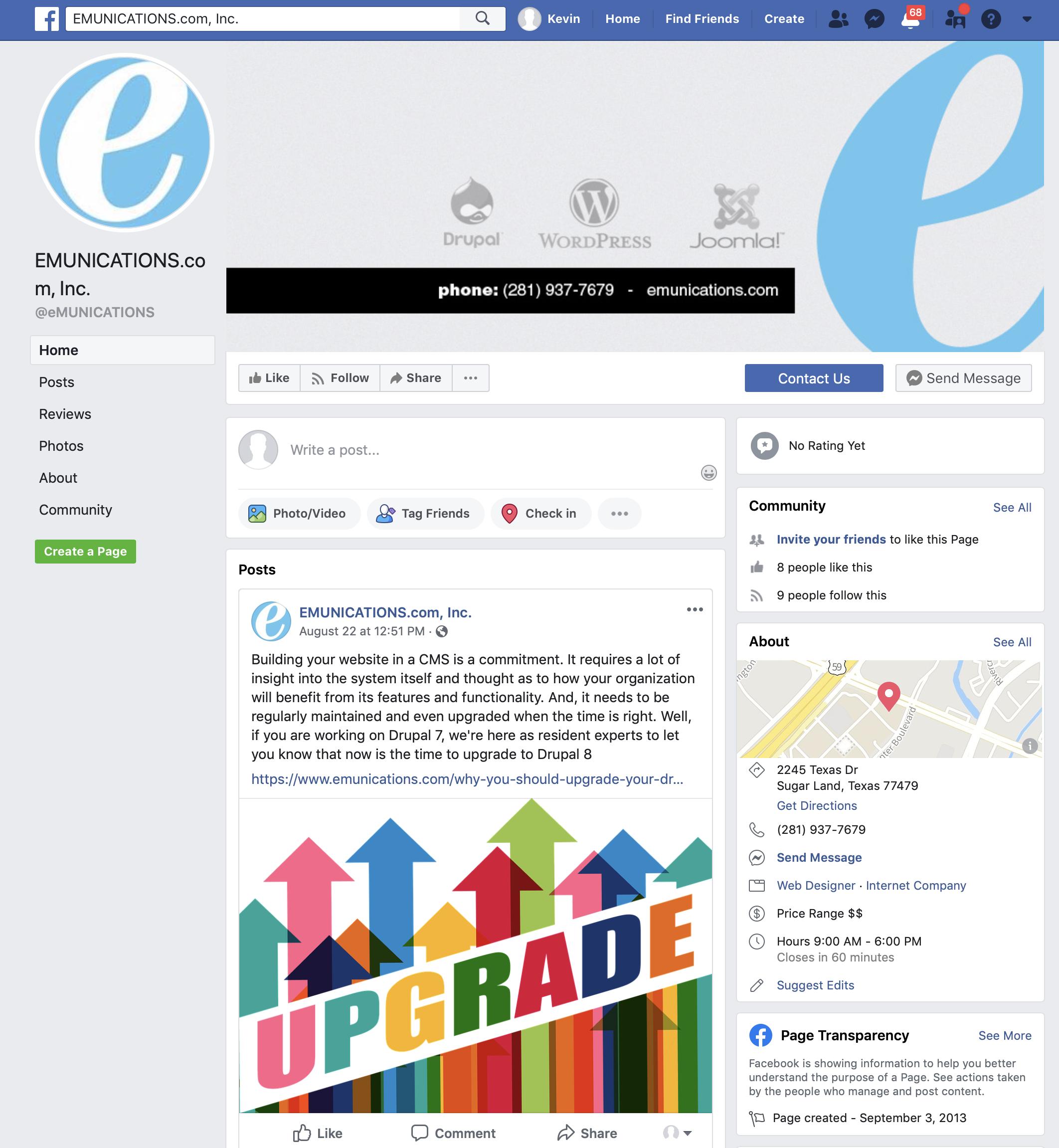 Facebook-emunications